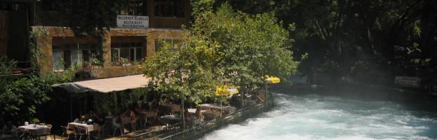 Değirmen Restaurant Düden Şelalesinde…